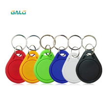 100pcs/Lot 6Color RFID Tag  125KHz Proximity Keyfobs Tags RFID Card for Access Control Time Attendance