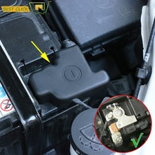 Für Chevrolet Holden Trax Tracker 2016 2017 2018 Auto Motor Batterie Elektrode Anode Negative Pol Protector Abdeckung Rahmen Chevy