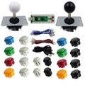 SJ @ JX аркадная игра 2 игровой контроллер Кнопка джойстик набор энкодера DIY часть для PC MAME Raspberry Pi ретро