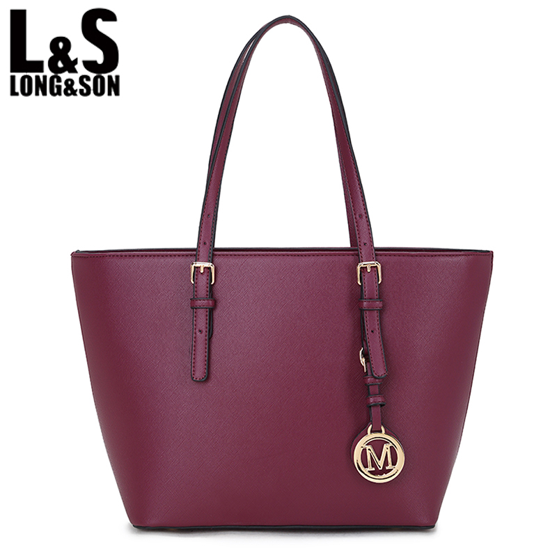 ФОТО L&S 2016 Designer Handbag Women Leather Tote Handbags Shoulder Bags High Quality HandBag Bolsas Feminina Lady Bag LS5131