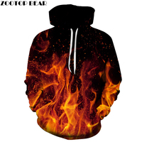 Fire Printed 3D Men Women Hoodies 6XL Sweatshirts Quality Hooded Jacket Novelty Streetwear Fashion Casual Pullover