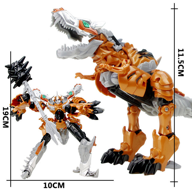 JINJIANG 19cm Height Transformation Robot Action Figures