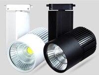 Светодиодная лампа 30 Вт COB Rail Light Spotlight Лампа заменить 300 Вт галогенная лампа Теплая/холодная/натуральная белая светодиодная лампа AC85-265V