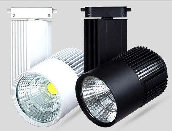 LED Luz Pista 30 W COB Light Rail Spotlight Lâmpada Substituir 300 W Lâmpada Halógena Quente/Frio/Natural faixa branca Levou lâmpada AC85-265V