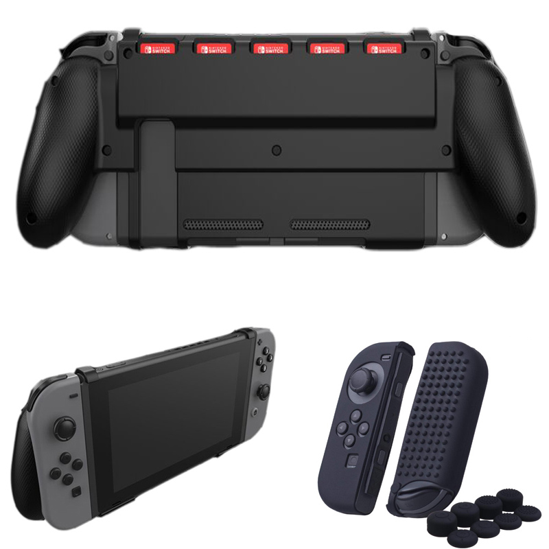 Nintend Switch Protective Guard Case Grip Gripstand Handle Bracket Holder Grip Game Card Slot For Nintendoswitch NS Accessories