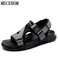 Men Fashion Sandals New Fashion Hook Loop Sandals Men Casual Shoes Comfortable Light Flats Zapatos Size