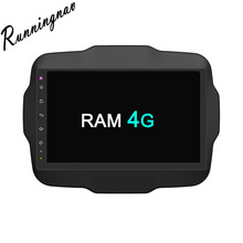 Octa Core RAM 4G ROM 32G Android Fit JEEP Renegade 2015 2016 Car DVD Player Navigation