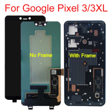 цена на LCD Screen For Google Pixel 3 5.5 3XL 6.3 LCD Display Touch Screen Panel Digitizer Assembly Repair Part with Frame 100% tested