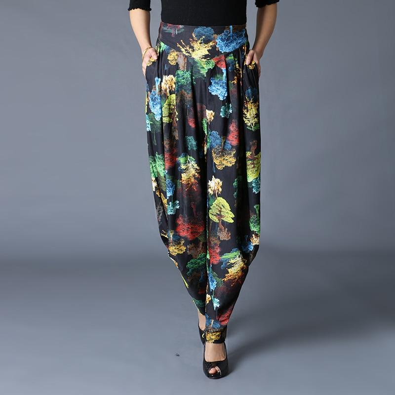 De Verano Primavera Del Harem Y Forest Coreano Femeninos Transpirable Pantalones Sueltos Gran Tamaño Green wxwSgq