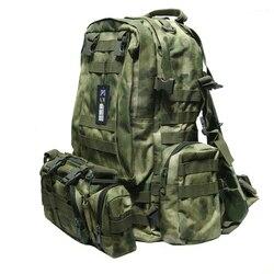 TAK YIYING plecak taktyczny 50L torba na zewnątrz plecak do wspinaczki plecak na rower z taśmami sport Camping Travel