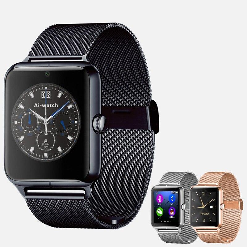 Tarjeta sim apoyo tf smartwatch bluetooth smart watch z50 pedomente sleep monito
