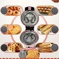 220 В многофункциональная электрическая машина для приготовления тортов  вафельного пончика  блинов  с 7 тарелками для домашнего приготовлен...