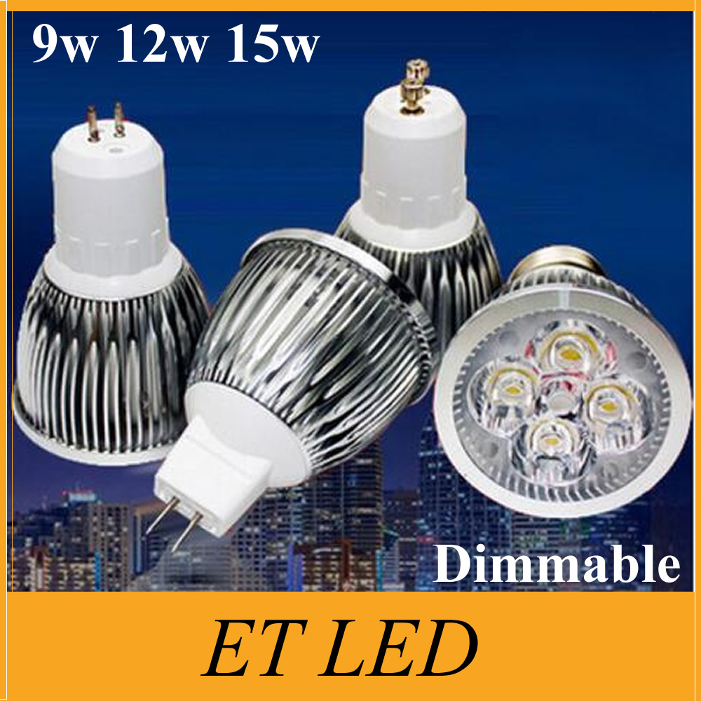 Sunny 1 Piece Dimmable 3w 4w 5w Gu10 E14 Gu5.3 E27 B22 Mr16 Led Spotlight Downlight Led Lamp Led Droplight Bulb Light Lighting 12v