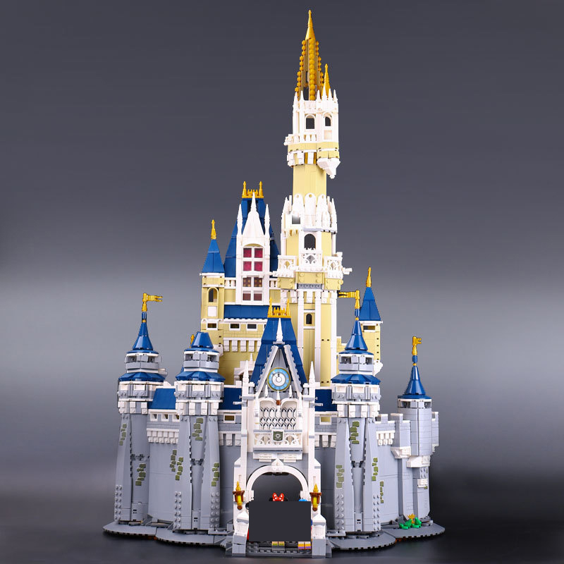 Bei Fen 16008 4080pcs Cinderella Princess Castle Model Building Blocks Toy Children Christmas Gift Compatible 71040 Girl lepin lepin 16008 creator cinderella princess castle city 4080pcs model building block kid toy gift compatible 71040