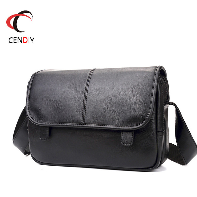 موضة جديدة حقيبة حقيبة للذكور حقيبة ساعي الأعمال Crossbody حقائب كتف للرجال العلامة التجارية مصمم حقيبة كمبيوتر محمول عادية