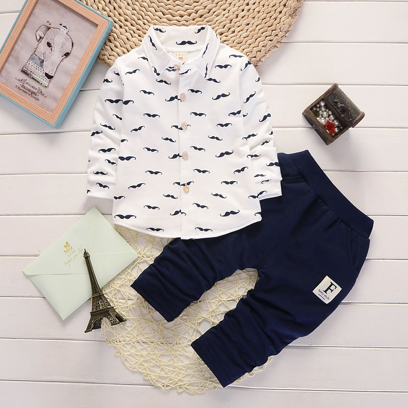 Jungen Herbst Kleidung Anzug Baby Baumwolle Print Outfit Kinder unterwäsche Trainingsanzug Kinder Casual Langarm Erste 2 jahr Kleidungssatz