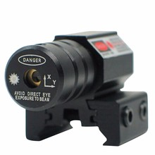 Spike JG-5 Pistol Tactical Adjustable 11mm And 20mm Dovetail Black Metal Alloy Housing Mini Red Dot Laser Sight With Battery