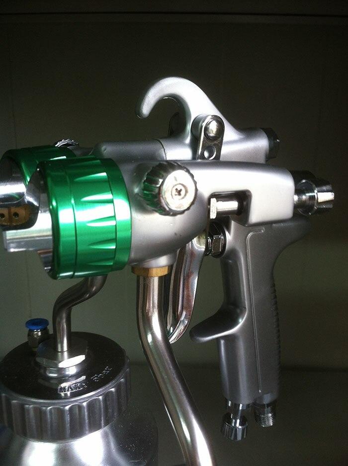 SAT1200 HVLP Air Spray Gun Set Pressure Tank Paint Paint Gun Set Spray Glue Gun Pneumatic Pressure Tool Airbrush Spray SAT1200 3