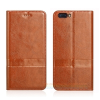 Vintage Genuine Leather Flip Stand Case For ZTE Nubia M2 5 5 Luxury Phone Leather Cover