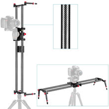 "Neewer 39""/1m Carbon Fiber Camera Track Dolly Slider Rail System for Canon/Nikon/Pentax/Olympus Stabilizing Photography Movie(China)"