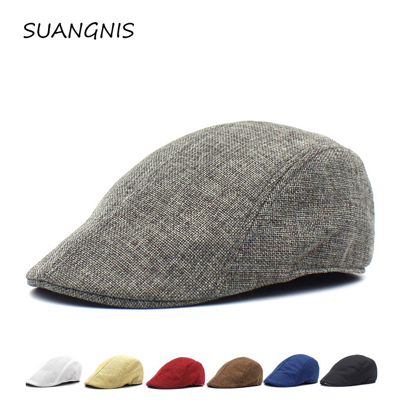 2019 Men Summer Visor Hat Sunhat Mesh Running Sport Casual Breathable Beret Flat Cap Vintage Hats For Women Sun Hat Octagonal(China)
