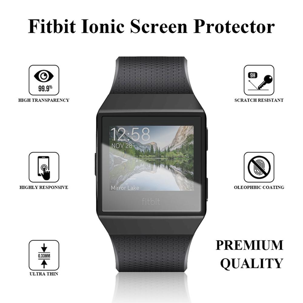 6 Colors Soft TPU Case Cover Screen Protector Waterproof Shockproof Smart Watch Accessories For Fitbit Ionic
