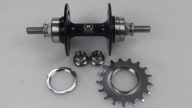 d5754d261 24 Key Holes Novatec A566SBT Fixed Gear Track Rear Hub