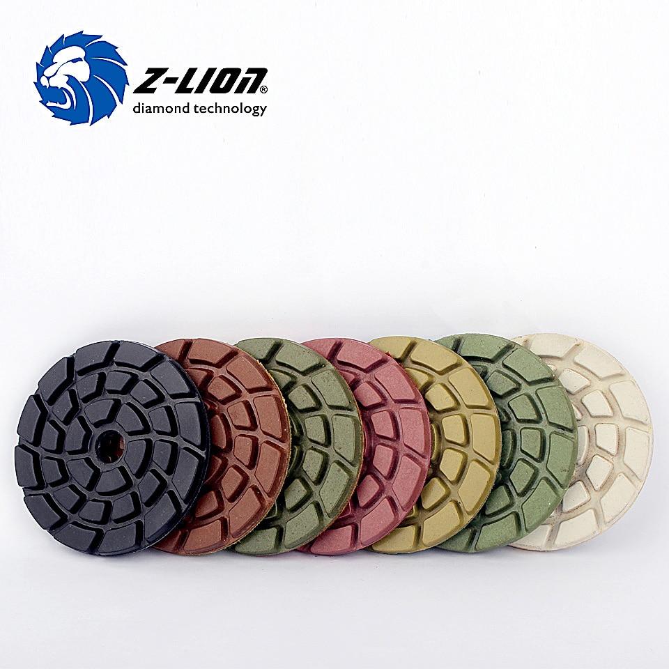 Z Lion 3 Inch Marble Floor Polish 7 Pieces Lot 80mm Diamond