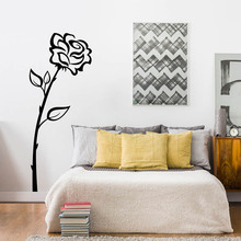 YOYOYU 40 colors Vinyl wall stickers for kid room Rose pattern Removeable Wall Decal Nursery Bedroom Livingroom Wall Decor ZX236 high quality dandelion pattern removeable wall stickers