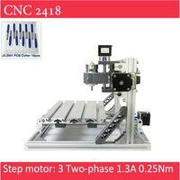 Mini CNC 2418 Standard 500 2500 5500 Mw Laser CNC Engraving Machine Pcb Milling Wood Router
