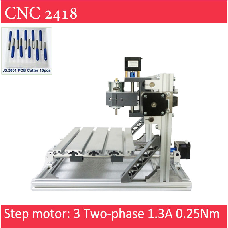 CNC 2418 Engraver With Laser Option of 500mw 2500mw 5500 mw For Pcb Milling Wood Soft Metal Engraving for hobbist Artist cnc 3018 standard with optional laser of 500mw 2500nw 5500 mw laser cnc engraving machine for pcb scribing milling wood router