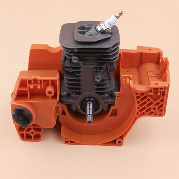 38MM Crankcase Cylinder Crankshaft Engine Motor Rebuild Kit Fit For HUSQVARNA 137 142 137E 142E Chainsaw Assembly Nikasil Plated crankcase crankshaft bearing cylinder starter engine motor rebuild kit fit husqvarna 362 365 371 372 50mm chainsaw spare parts