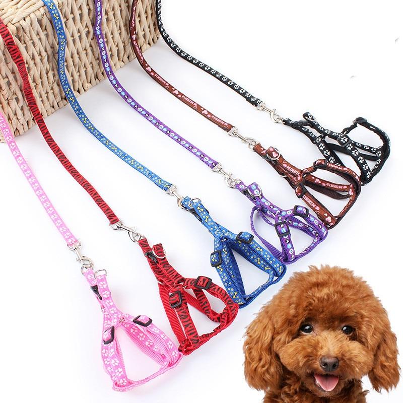 120 cm correa de Tracción Perro de la cuerda de Tracción Collares de Arneses de