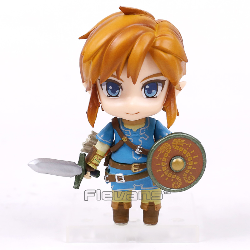 The Legend of Zelda Breath Of The Wild Nendoroid Link PVC Action Figure Model