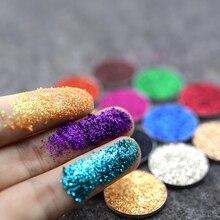 6 цветов Popfeel 1 шт/ квадратный лак для ногтей/тела/глаз Блестящий Порошок Блестки Блестящий DIY Дизайн ногтей Dancingnail сияющий блеск для тела