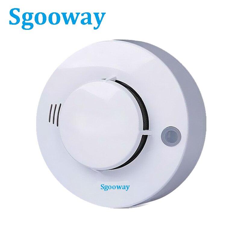 Sgooway High Quality CE Wire Smoke Detector Smoke Sensor Netwroking For Alarm System 2 Years Warranty