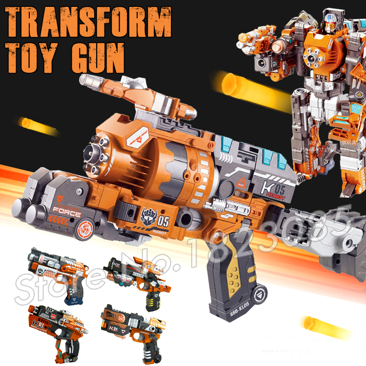 5types Toy Pistol Gun Super Heroes Transformation Robots Soft Bullet  Plastic Toys Air Guns Same as Bursts Toys-in Toy Guns from Toys & Hobbies  on ...