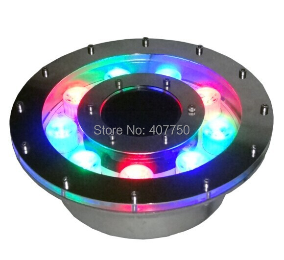 free shipping to EuropeIP68 rgb led fountain light 9W 12V led underwater light 2pcs/Lot for scenic spots free shipping to latin america waterproof smd rgb par56 led pond light 12v 18w led light ip68 2pcs lot for city rivers