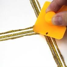 Квадратный скребковый многофункциональный инструмент для украшения стык герметик Затирка набор инструментов для удаления скребка аппликатор правый угол конический
