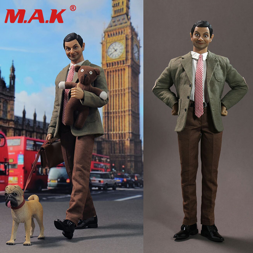 Collection 1/6 Full Set Male Action Figure Atkinson Mr Bean Collectible 12'' Man Figure Model