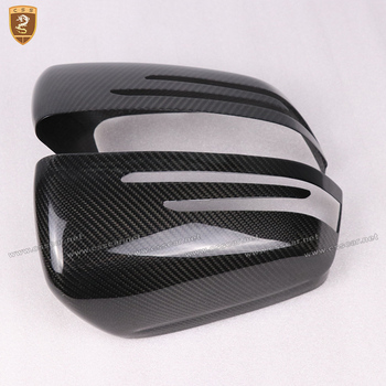 Full Carbon Fiber Mirror Cover For Mercedes Benz C Class W204 A W176 E W212 E W207 GLA X156 CLA W117 CLS W218 Add on Style