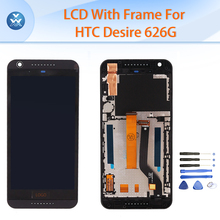 AAA pantalla for HTC Desire 626 626G LCD replacement display touch screen digitizer glass frame bezel full assembly repair tools