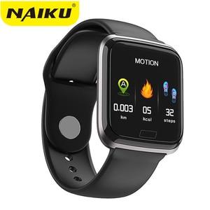 Image 1 - NAIKU CY05 Smart Watch Bracelet Ports Waterproof Fitness Heart Rate Blood Health Monitoring Pressure Health Step Remote Watch