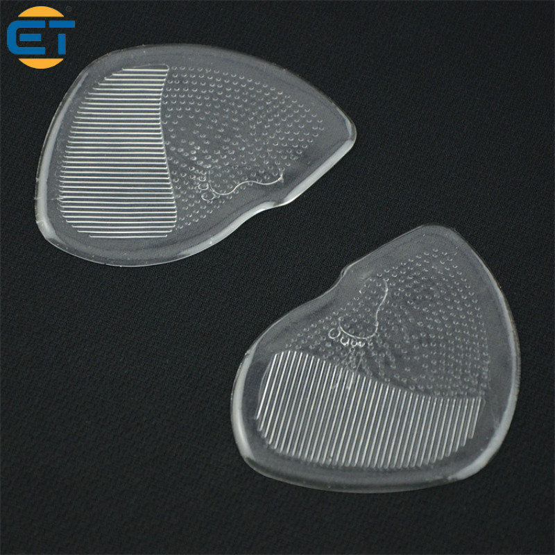 10pairs Non-Slip Arch Support Silicone Gel Pads High Shoe Inserts Half Code Insole Forefoot Care 10 pairs breathable latex rubber pad half code wholesale silicone half code inserts high heeled shoes insoles stick slip