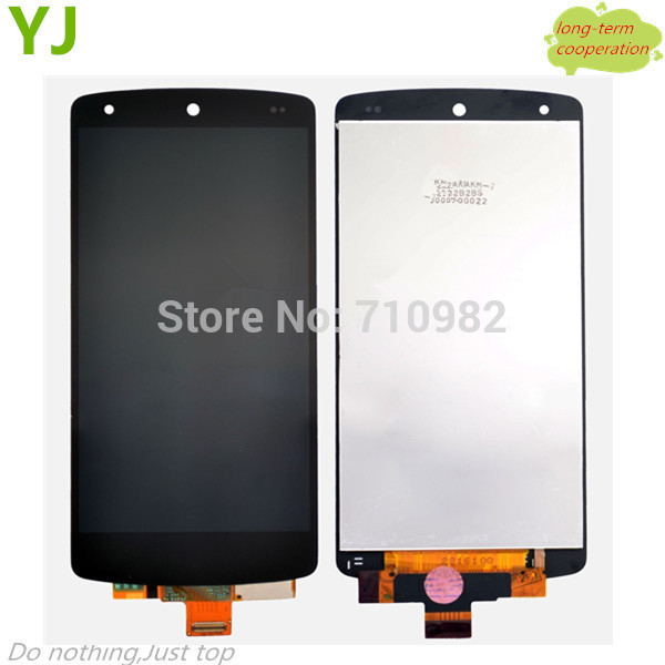 HK free 100% Tested AAA original LCD Screen and Digitizer Assembly for LG Google Nexus 5 D820