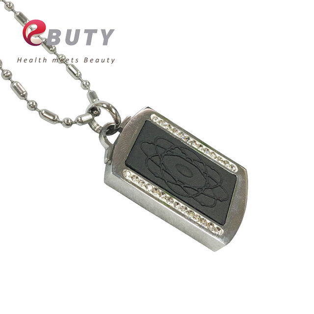 Ebuty quantum energy pendant rectangle lava magnetic pendants charm ebuty quantum energy pendant rectangle lava magnetic pendants charm 4000cc ions with white crystal fashion jewelry aloadofball Images