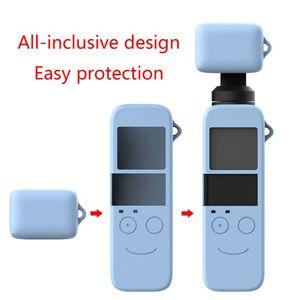 Image 5 - 1 ชุดซิลิโคนป้องกันกรณีเลนส์ผิวสำหรับ DJI OSMO กระเป๋า Gimbal กล้องชุดอุปกรณ์เสริม