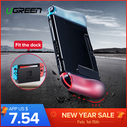Ugreen Protective Case For Nintend Switch Case Fit Charger Dock Soft Silicone Anti-drop Case For Switch Nitendo Case