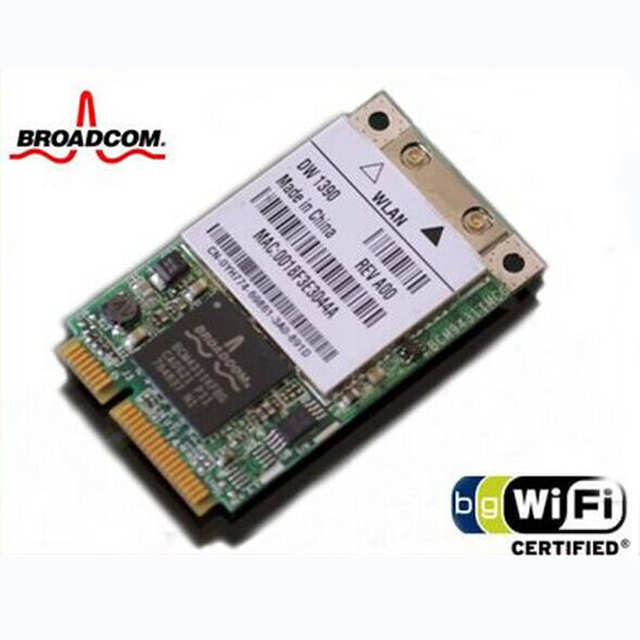 BROADCOM BCM43XX WLAN 1390 DELL DRIVER DOWNLOAD