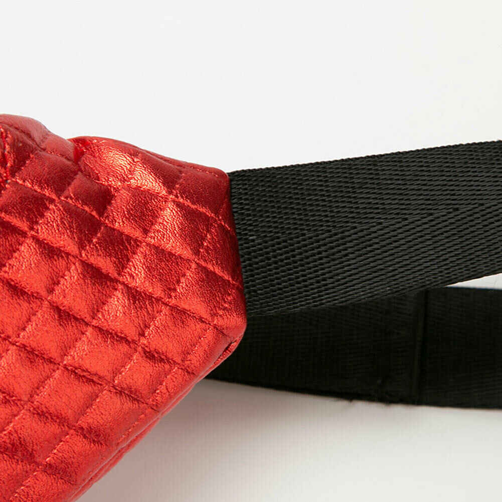 Bolso de la cintura de las nuevas mujeres de la manera del bolso del pecho sólido de la cremallera de la tela escocesa de la gran capacidad del paquete del bolso de la cintura del deporte del viaje